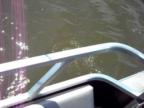 Fishing on kaw lake youtube for Kaw lake fishing report