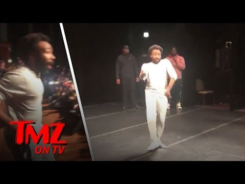 Donald Glover Surprises High Schoolers! | TMZ TV