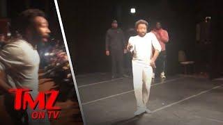 Donald Glover Surprises High Schoolers!   TMZ TV