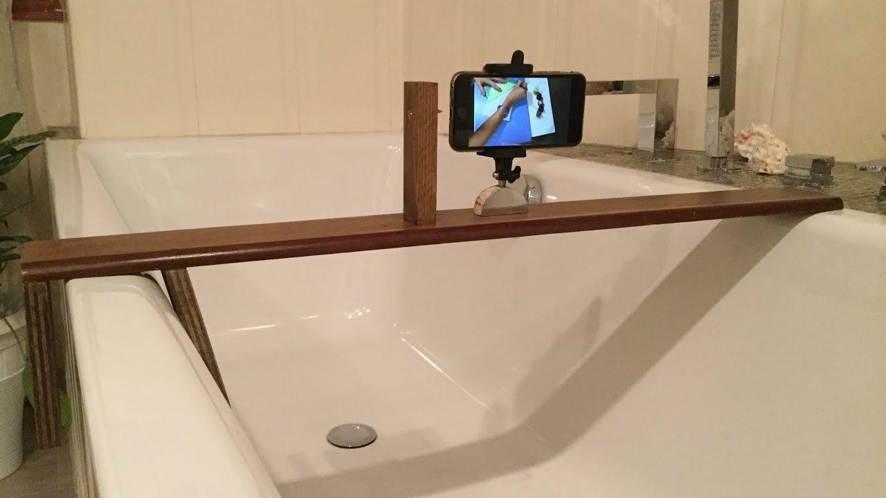 Costruire Vasca Da Bagno.Come Costruire Un Sostegno Per Telefono Da Vasca Da Bagno Youtube