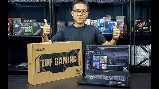 "Unbox - ASUS TUF FX705 โน้ตบุ๊คเล่นเกมจอ 17.3"" 144Hz ขอบบาง i7 + GTX 1060"