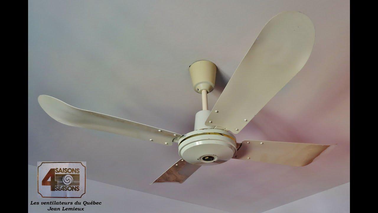 1981 4 Saisons Industriel 120 cm Ceiling Fan