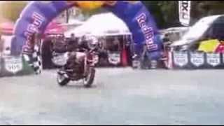 Amazing bike stunt