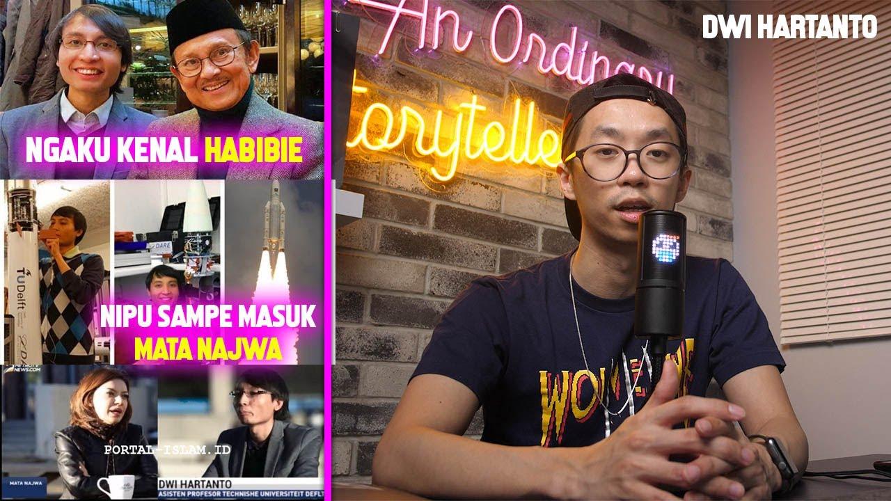 "SAMPAI MASUK TV BESAR, PENIPUAN TERBESAR INDONESIA, NGAKU NEXT ""BJ HABIBIE"" | Dwi Hartanto"