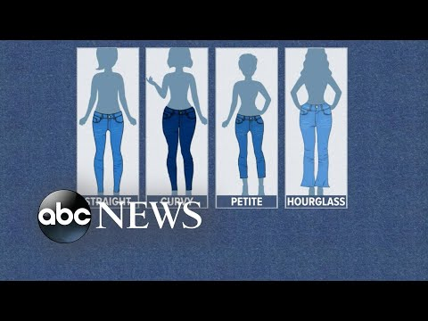 Download Youtube: How to pick the best jeans for your body shape