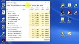 Comment désactiver un programme qui se lance automatiquement au démarrage de Windows 10