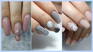 2 дизайна в одном видео Длинные квадратные ногти маникюр на клиенте