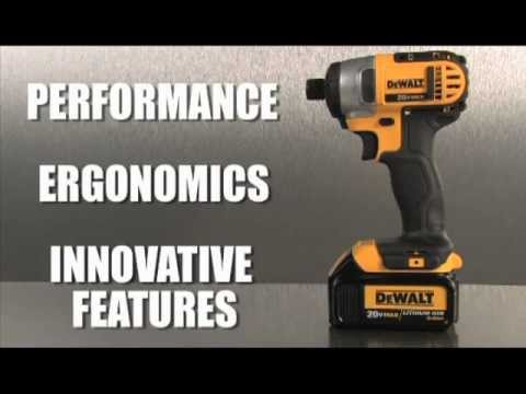 dewalt®-tool-review---dewalt®-impact-driver-1/4-in