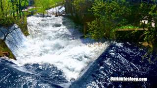RIVER CASCADES IN NORWAY | Sleep, Relax, Study | White Noise 10 Hours