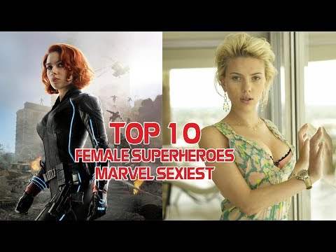 Top 10 female superheroes Marvel sexiest then and now Hot 2019 from YouTube · Duration:  5 minutes 45 seconds
