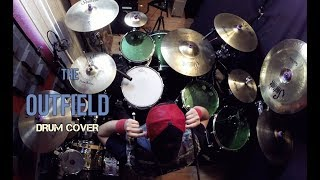 The Outfield - Your Love - Drum Cover - Manny Pedregon