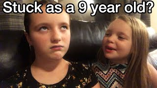 """Body Swapped with a 9 Year Old Part 2 - Quarantine Leap 18 - """"Rayna"""" (Gender Bender) Quantum M2F"""