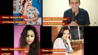 real name of aladdin cast sab tv