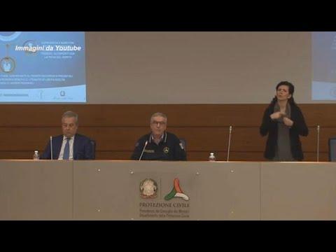 Coronavirus, Borrelli: «Numeri in calo ma non abbassiamo la guardia»