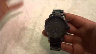 Fossil Nate Watch Review-With Chronograph (JR1400)