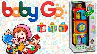 Развивающая игрушка Кубики Baby Go. Обзор.