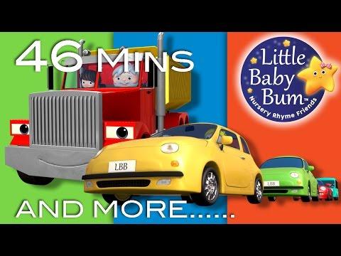Vehicle Songs | Part 2 | Plus Lots More Nursery Rhymes | 46 Mins Compilation from LittleBabyBum!
