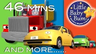 Learn with Little Baby Bum | Vehicle Songs | Nursery Rhymes for Babies | Songs for Kids