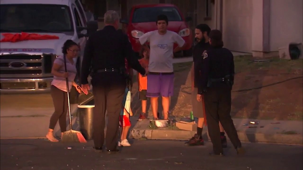 FOX 11 rides along with Pomona police as officers hunt for illegal fireworks