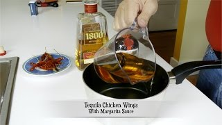 Tequila Fried Chicken Wings With Spicy Margarita Sauce / English Closed Captions