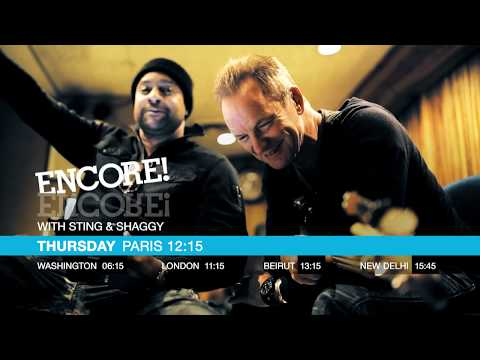 ENCORE! with Sting and Shaggy