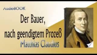 Der Bauer, nach geendigtem Prozeß  Audiobook Matthias Claudius
