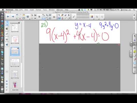 Methods of Quadratic Solutions   Broadband