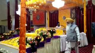 Last Video of Bhai Malkit Singh Ji Batala Wale. Before he Passed away on Stage while Doing Kirtan