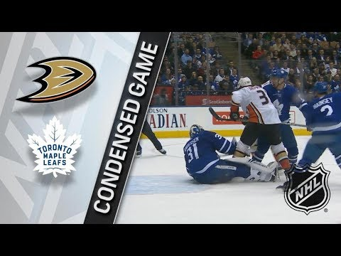 Anaheim Ducks vs Toronto Maple Leafs – Feb. 05, 2018 | Game Highlights | NHL 2017/18. Обзор матча