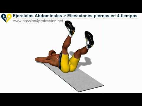 Ejercicios para abdomen inferiores