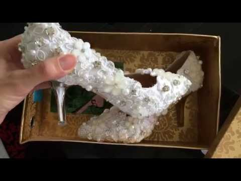 Giày cô dâu - giày cưới - giày đi tiệc  (mã 31)