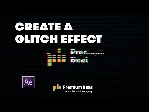 Create a Glitch Effect For Logos and Titles in After Effects