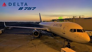 Delta Boeing 757, Honolulu, Hawaii to Seattle SEA [FULL FLIGHT REPORT)