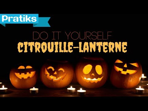 comment faire une citrouille lumineuse pour halloween jack o 39 lantern youtube. Black Bedroom Furniture Sets. Home Design Ideas