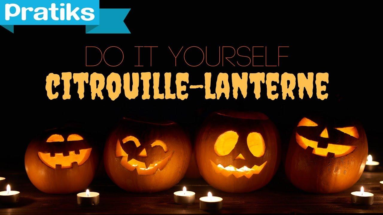 Comment Faire Une Citrouille Pour Halloween.Comment Faire Une Citrouille Lumineuse Pour Halloween Jack O Lantern