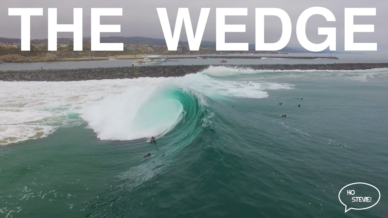 Big Surf at The Wedge 2016 [DRONE FOOTAGE]