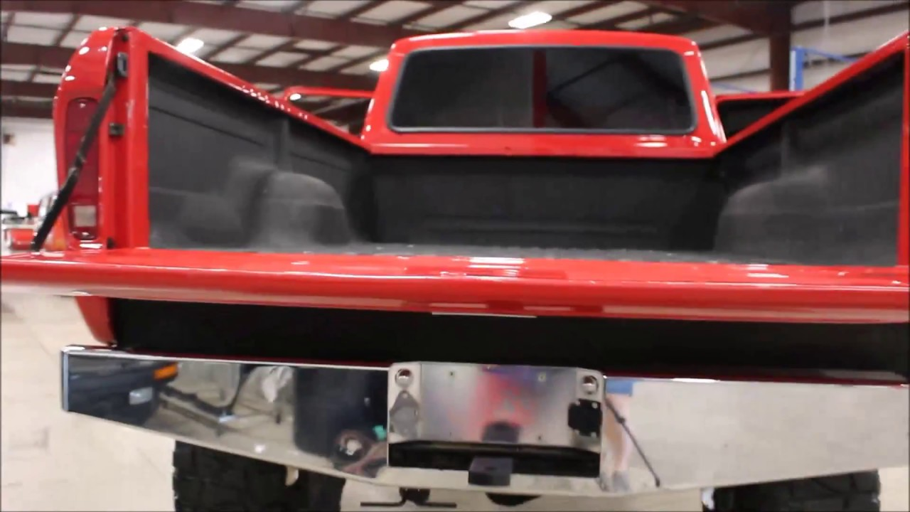 1979 Ford F250 Red Lifted Youtube 1955 F100 Suspension Upgrades