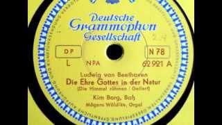 Kim Borg - Die Ehre Gottes in der Natur - 1953