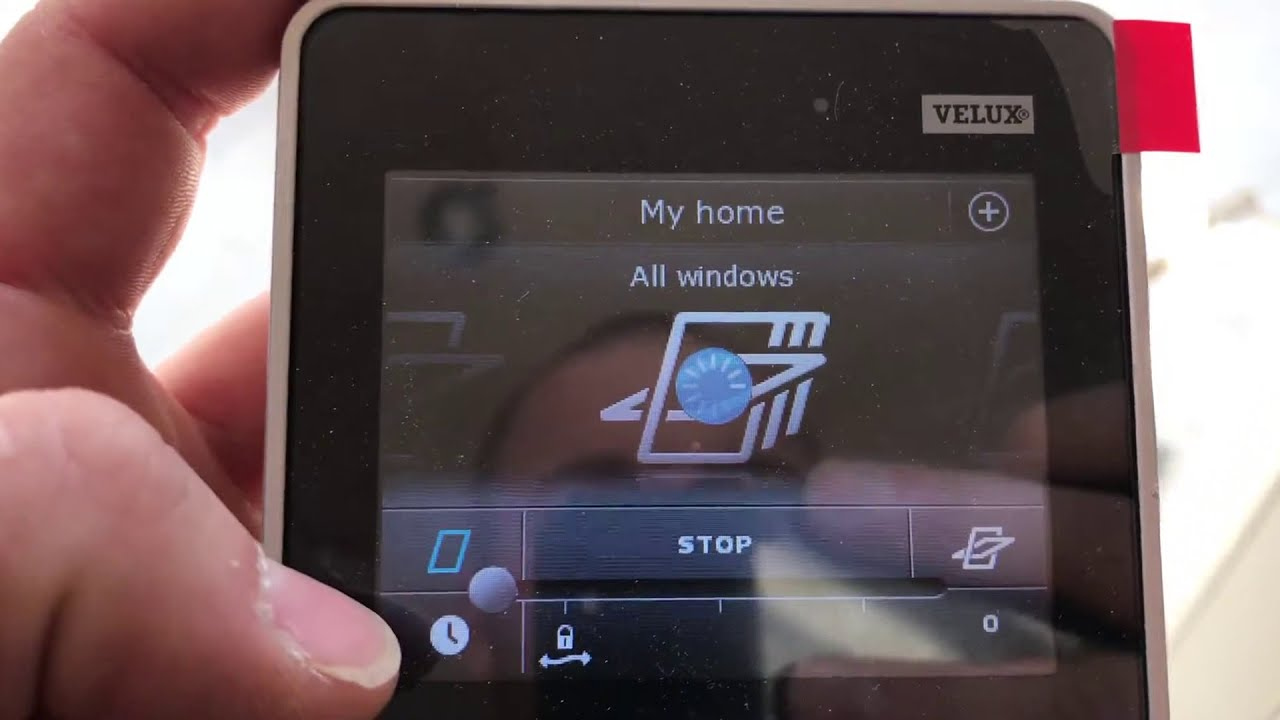 velux electric windows integra control pad wireless electrician in reading youtube