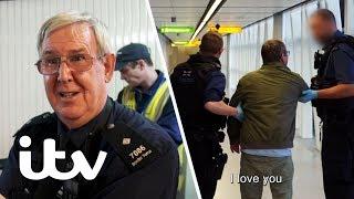 Border Police Escort a Drunk Passenger Off a Plane! | Heathrow: Britain's Busiest Airport | ITV