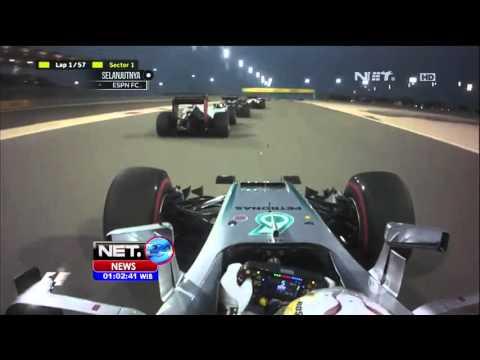 Rio Haryanto Cetak Rekor Capai Finish Balapan F1 di Bahrain - NET24