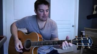 """""""Because He Lives (Amen)"""" - Beginner Guitar Lesson (Matt McCoy)"""