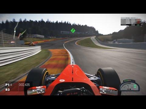 Project Cars - Spa - 1:43:573 - HotLap & Setup - F1 / Formula A