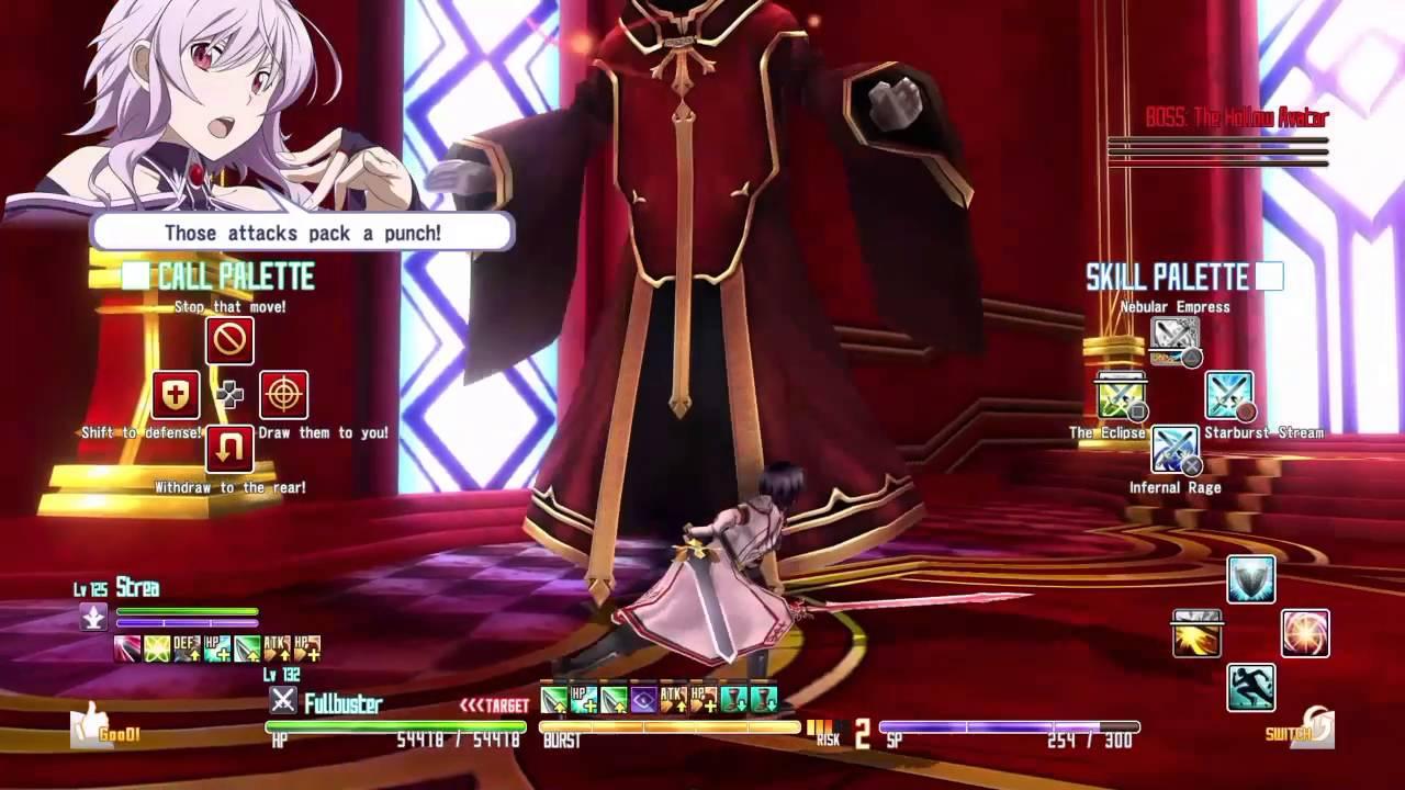 Sword Art Online Re Hollow Fragment Final Boss Battle 100th Floor