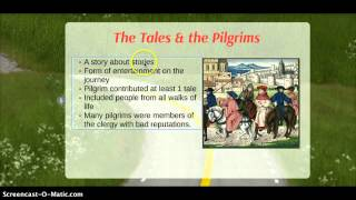 Repeat youtube video Canterbury Tales intro