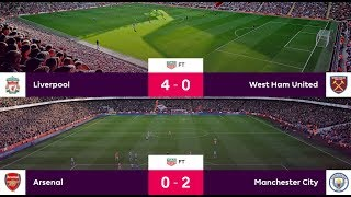 Premier League All Matches Results: Week 1 (11-12 August 2018) | Liverpool win 4-0, Man City win 2-0