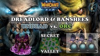 Grubby | Warcraft 3 The Frozen Throne | Undead vs. Orc - Dreadlord & Banshees