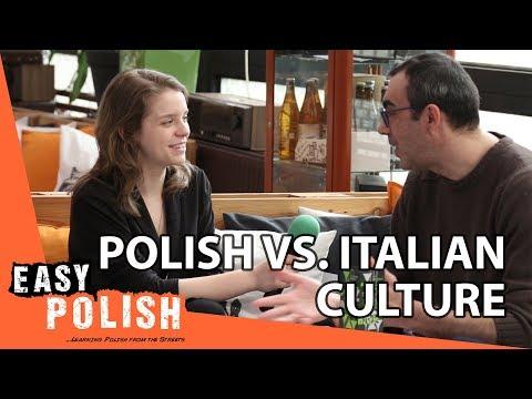 Polish vs Italian culture | Easy Polish 84