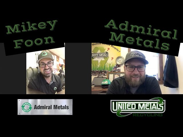 Mikey Foon with Admiral Metals