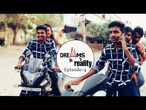 Dreams and Reality || Episode 4 || Comedy Series || by Ravi Ganjam #Laughingtime